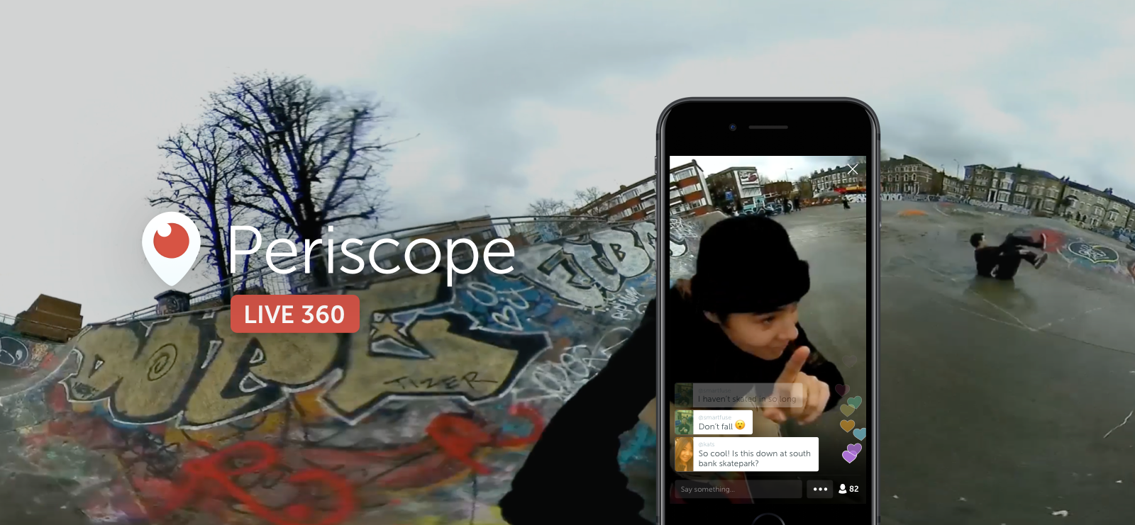 Live 360 Video on Periscope