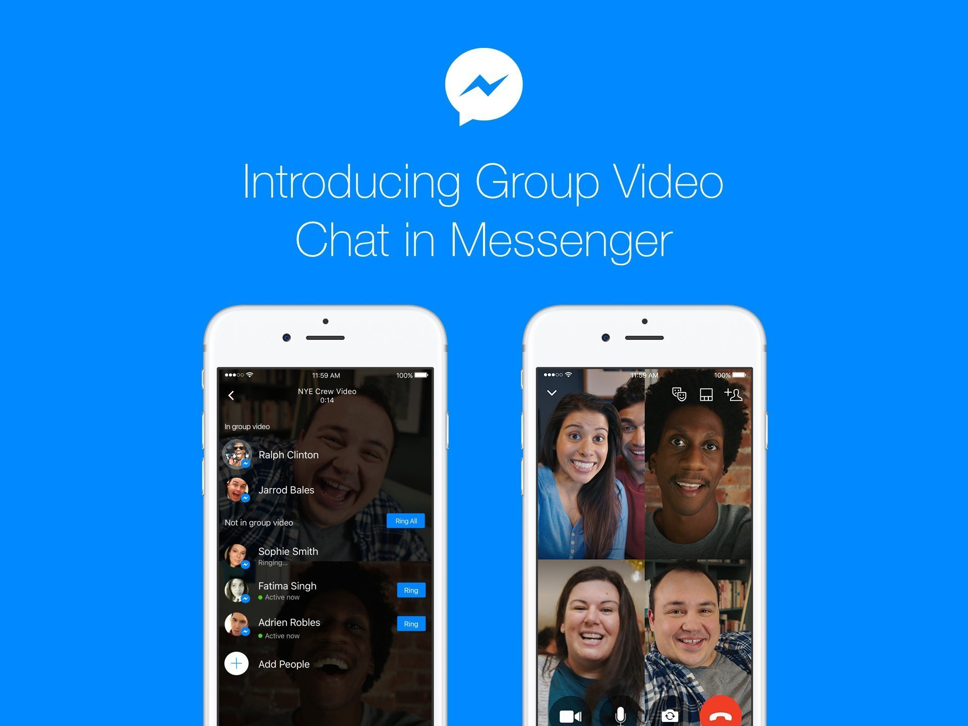 Group Video Chat on Messenger