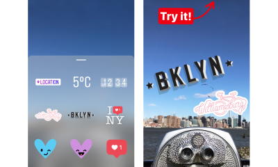 Instagram NYC Stickers