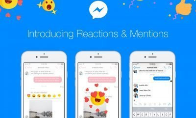 Messenger Reactions & Mentions