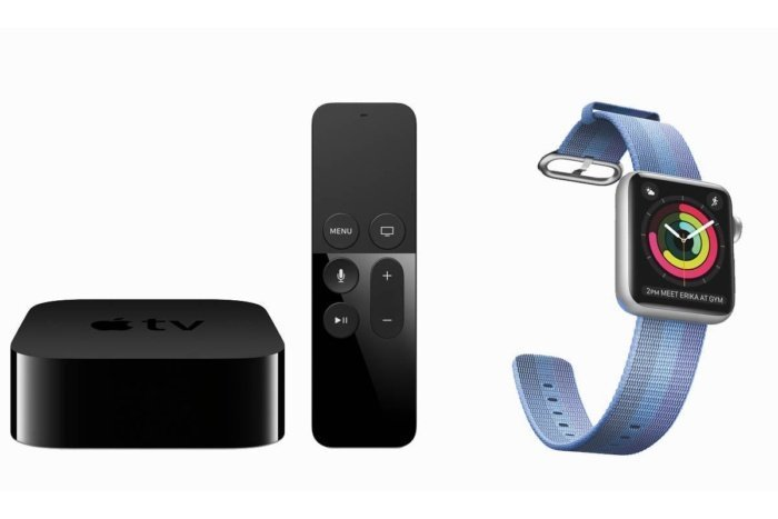 Apple TV and Apple Watch