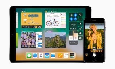 iOS 11 iPad and iPhone