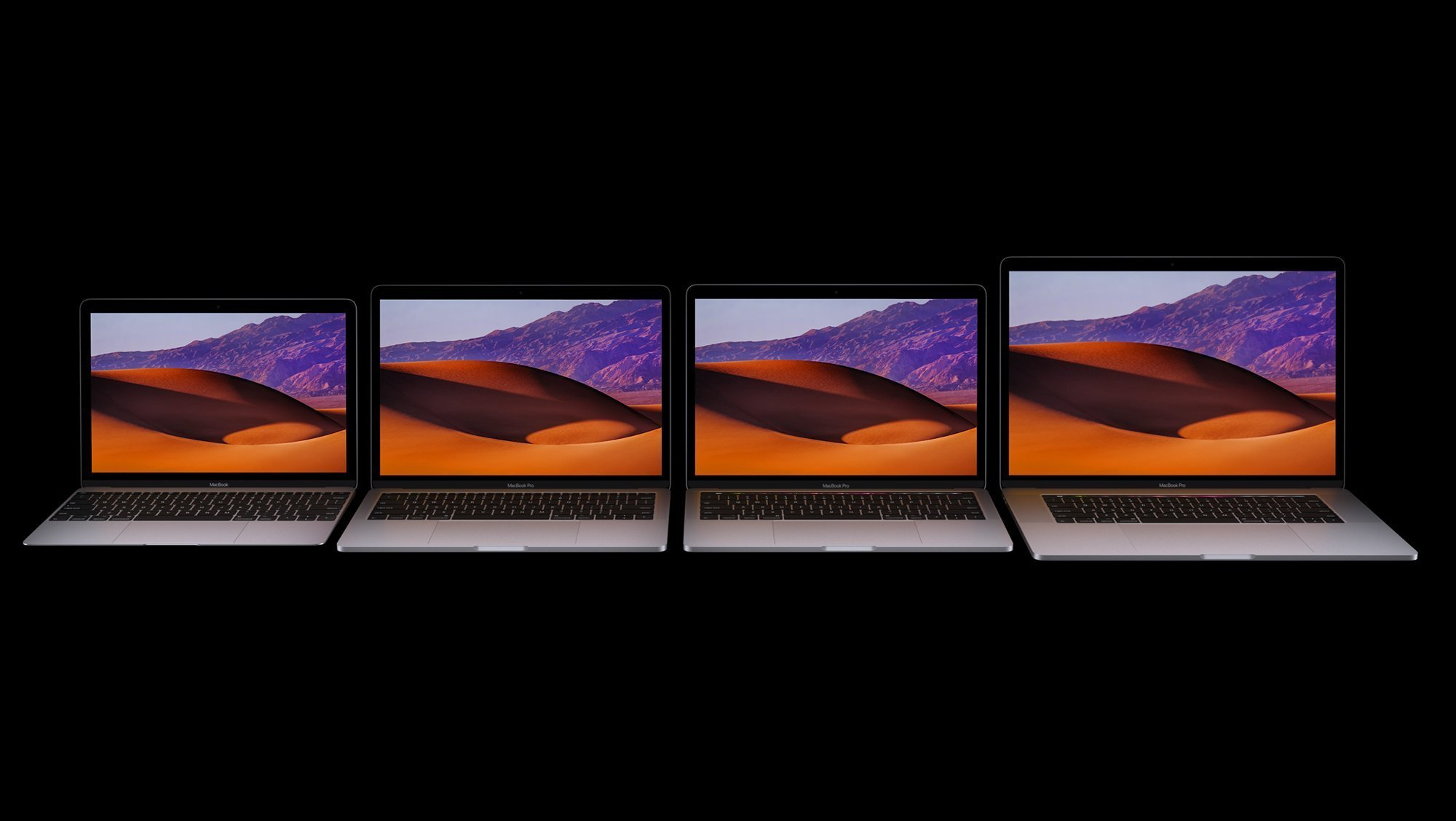 New 2017 MacBook Family