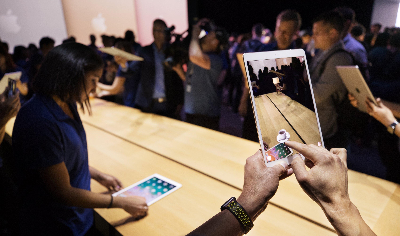 AR on iPad with iOS 11