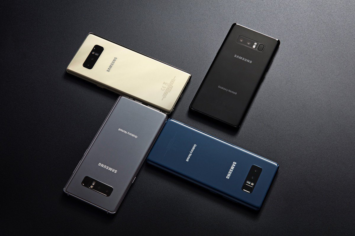 Galaxy Note8 Color