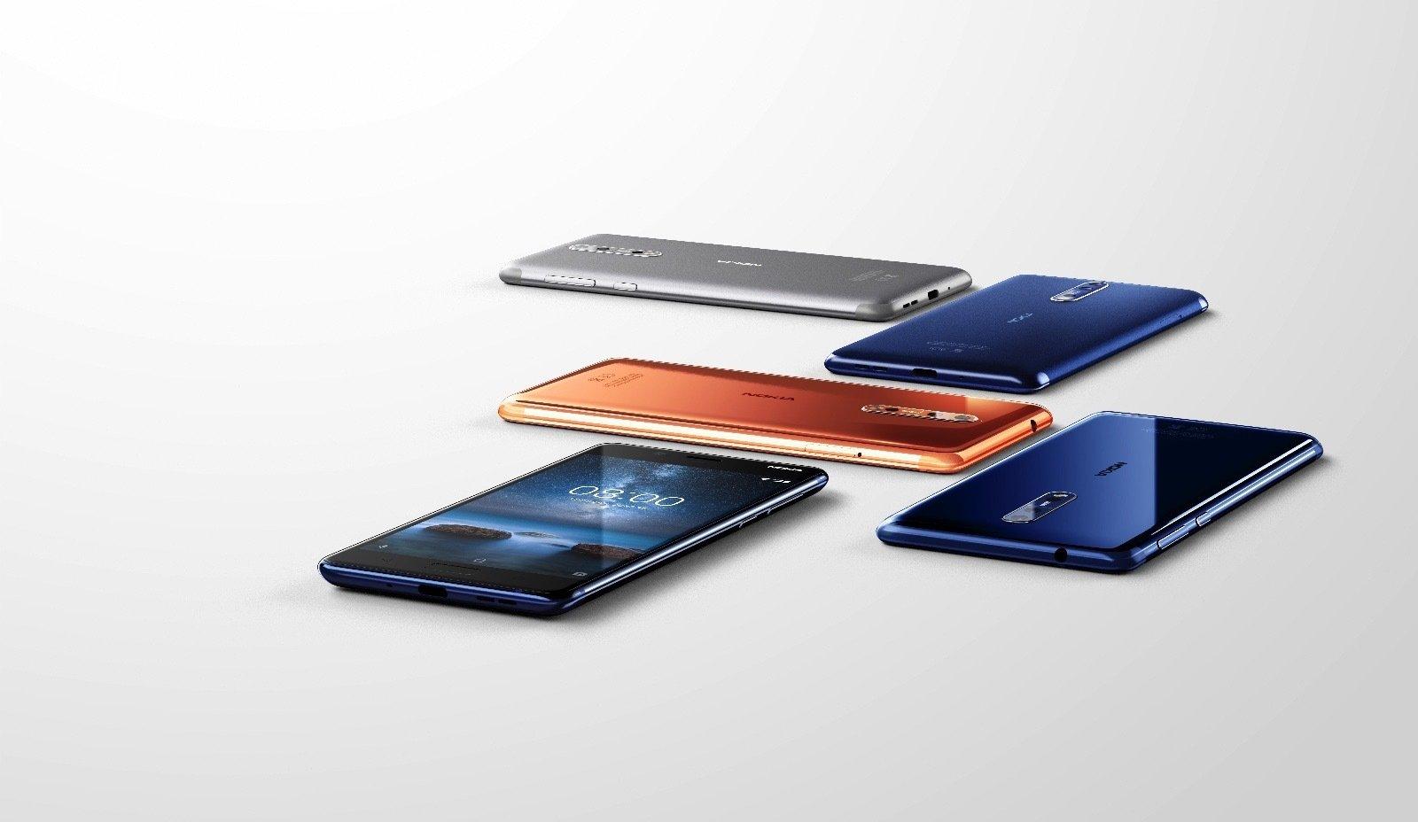 Nokia 8 Color