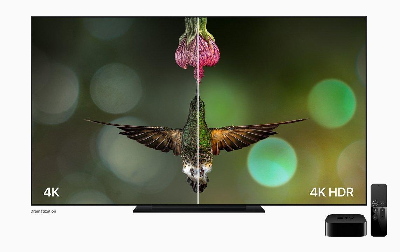 New Apple TV 4K HDR Comparison