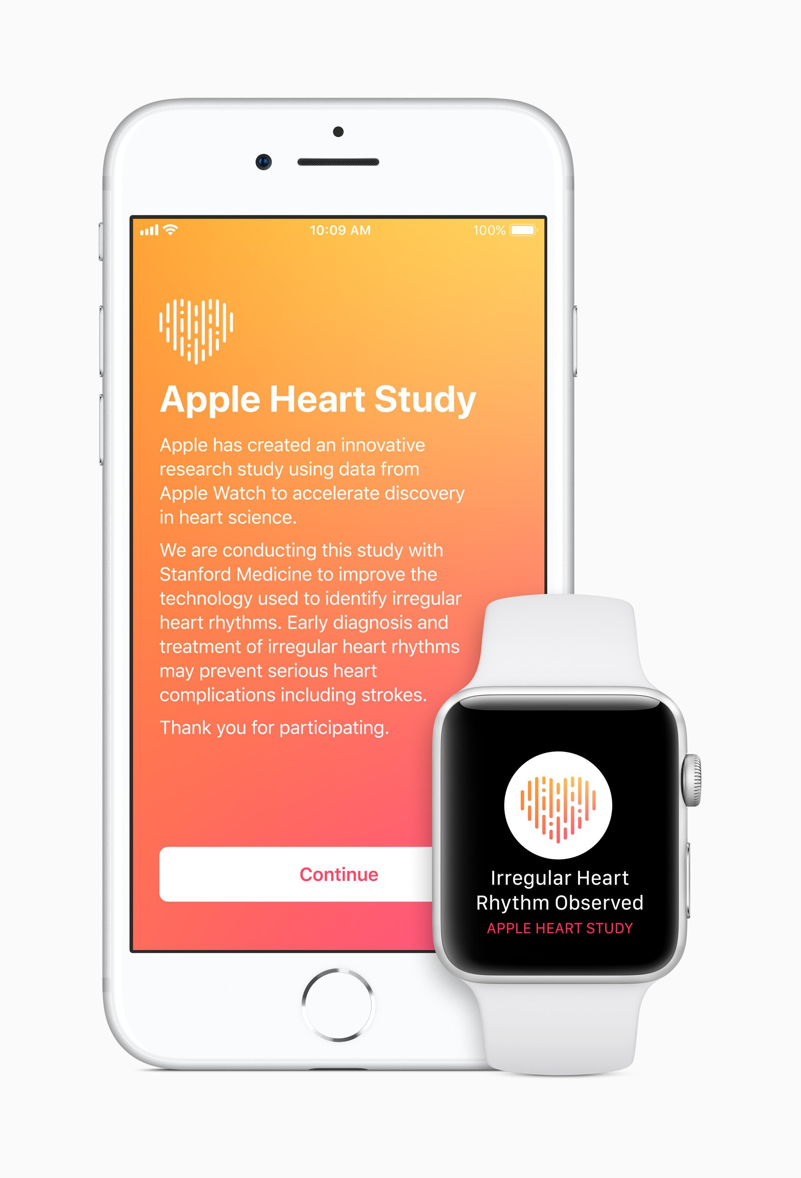 iPhone Watch Heart Study