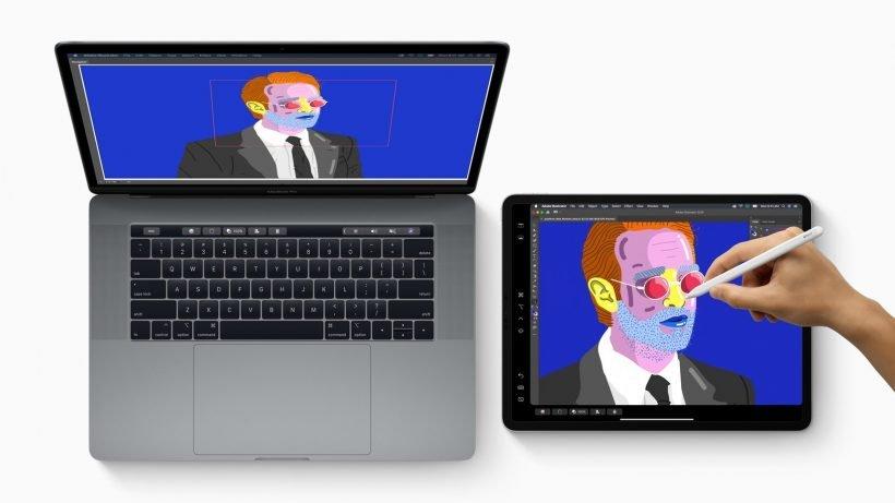 Apple macOS Catalina Sidecar with iPad Pro